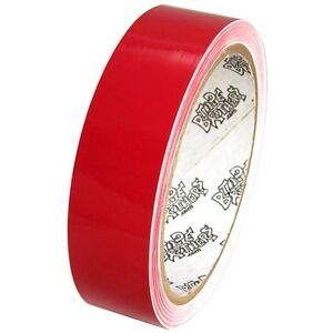 Tape Planet 3 mil 1 inch x 10 yards Red Outdoor Vinyl Tape