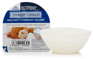 Yankee Candle Wax Melts   Soft Blanket Vanilla   Up To 8 Hours Of Fragrance