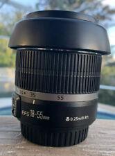 Canon EFS 18-55mm f/3.5-5.6 IS II SLR Lens