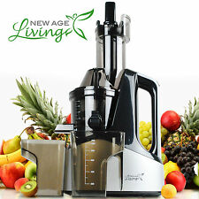 New Commercial Slow Juicer Masticating Cold Press Machine Fruit Vegetable !
