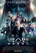 X-Men Apocalypse 2016 Korean Movie Mini Posters Movie Flyers (Ver.2 of 2)