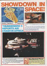 Gerry Anderson Action 21 #8 Thunderbirds Stingray Fireball XL5