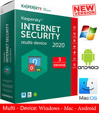 KASPERSKY INTERNET Security 2020, 3 Device, 1 Year - Global Key $15.25