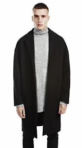 Represent The Black Overcoat XL TD017 GG 06