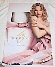 BURBERRY, LILY JAMES, parfum perfume MY Burberry BLUSH, PLV Display 2 faces,