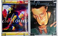 The DEFTONES Adrenaline Around The Fur 1996 & 1997 Maverick PROMO POSTERS (2)