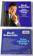 RUDI SCHURICKE Seine grossen Erfolge / DIE ORIGINALE .. Polydor-CD TOP