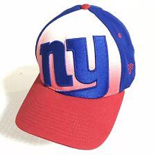 New Era 39Thirty 3930 Gradation New York Giants Flex Fit L/XL Hat Cap NFL EUC
