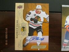 2018-19 Upper Deck ENGRAINED HOCKEY  Autograph BLACKHAWKS Patrick Kane