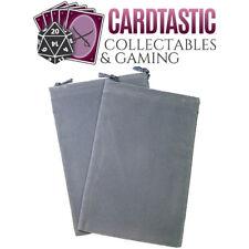 Chessex Dice Bag Suedecloth Large Dark Grey