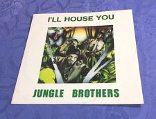 """JUNGLE BROTHERS (12""""MAXI) I´LL HOUSE YOU [ORIG GERMAN 1988 ZYX 45RPM OLDSCHOOL]"""
