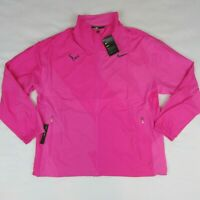 Nike Court Men's Pink Tennis Jacket Rafa Nadal Full Zip AJ8257-686 Large