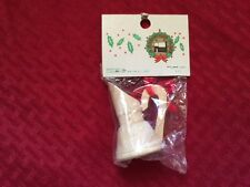 NEW VINTAGE A CHRISTMAS PLACE WOODEN WATER JUG CHRISTMAS ORNAMENT! LOW SHIPPING!