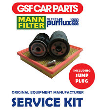 Service Kit Oil Air & Fuel Filters & Sump Plug Chrysler Voyager 2.8 Crd