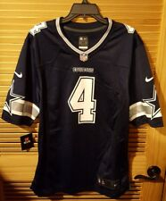 2fb4f094b NWT NiKE Dallas Cowboys  4 Dak Prescott Mens Game Jersey 479384-438 2XL
