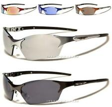 XLOOP SPORT DESIGNER SUNGLASSES METAL GOLF WRAP SLIM LARGE RUNNING UV400 CYCLING