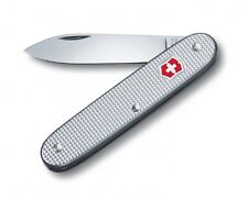 🌟 0.8000.26 VICTORINOX SWISS ARMY POCKET KNIFE Pioneer 1 Silver Alox Solo 93mm
