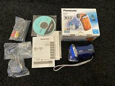 Panasonic HX-WA2 WATERPROOF CAMCORDER HD BONUS Eye-Fi SD cards x2 GREAT SHAPE