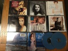 Celine Dion x 8 A New Day Has Come Limited Edition CD/DVD Titanic Falling Unison