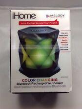 iHome Color Changing Portable Bluetooth Speaker IBT68BC Speakerphone BIN#119