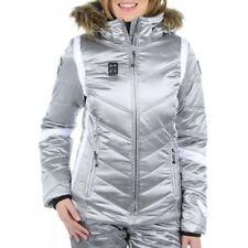 IcePeak Ski Veste de Snowboard Veste D'Extérieur Olga Argent Taille 36