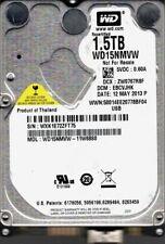 Western Digital WD15NMVW-11W68S0 1.5TB USB 3.0 DCM: EBCVJHK