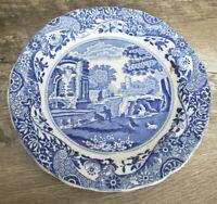 Copeland Spode's England Blue Cup Saucer And Vintage Homer Laughlin Berry Bowl