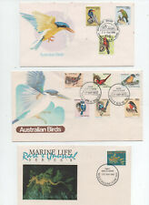 Australian Fdc's x 3 See Scans. Super Cond. To Clear. Free Post