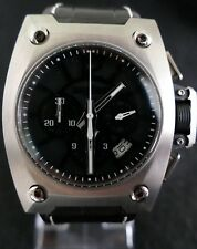 Limited Edition Wyler Geneva Code R Incaflex Titanium Carbon Fibre Chronograph