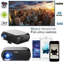 LED Full HD 1080p Wifi BT Smart Home Theater 3D LCD 4k Video Projector HDMI Game