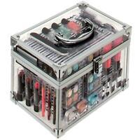 Technic Essentials Clear Make Up Case & Cosmetics Organiser Box  Kit 90232-F06
