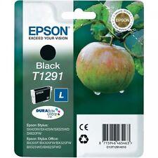 Genuine Epson Original T1291 Black Ink Cartridge (C13T12914011) BX305FW