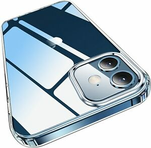 Clear Bumper Shockproof Slim Thin Case For iPhone 12 Pro/12 Pro Max/12 Mini