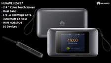 HUAWEI E5787Ph-67a (Unlocked) 4GX WiFi PRO Touch Screen Display Modem BK