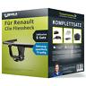 Anhängerkupplung starr für RENAULT Clio Fliessheck +E-Satz PKW ABE EC 94/20