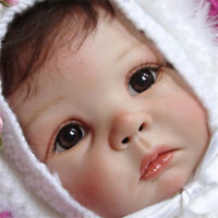 21inch Reborn Doll Kit DIY Unfinished Doll Parts Love Face Big Eyes Vinyl Doll