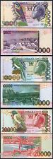 SANTO TOME SAINT THOMAS & PRINCE SET 5000 10000 20000 Dobras 2010 2013 SC / UNC