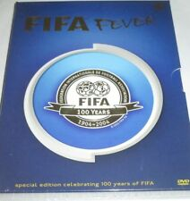 FIFA Fever 100 Years - 2 DVDs/NEU/Fussball/Sport/special deluxe edition/Digipak