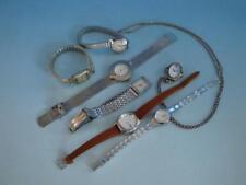 RS0218-096: Konvolut Damen Armbanduhren u.a  Junghans Blumus