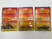 Matchbox 84 Corvette Shovel Front Loader Dodge Daytona Carded Vintage Lot Bundle