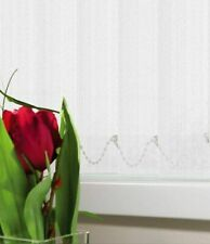 """KINETON WHITE VERTICAL BLIND REPLACEMENT SLATS 89mm (3.5"""") WIDE"""