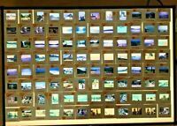 Vintage 35mm Colour Photo Kodak Transparency Slides From The 1960/70's x 96