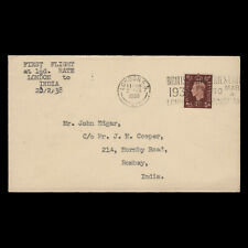 Great Britain 1938 (Cover) 1½d King George VI Definitive