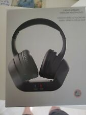 wireless tv/pc over ear headset with charging base brand new