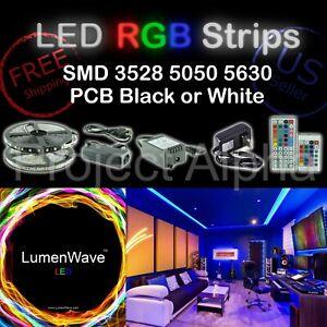 Ultimate Universal 300 LEDs Strip Kit 5M SMD 3528 5050 5630 RGB 12V - US Seller