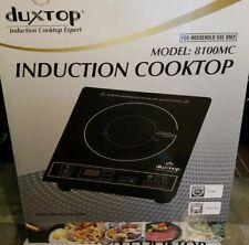 Duxtop 1800W Portable Induction Cooktop Countertop Burner. Model: 8100Mc, Black