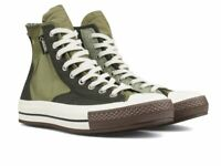 Converse x Slam Jam Chuck 70 Hiker Hi Gore-Tex Mens 160317C Olive Sizes 6 10.5