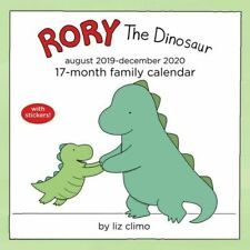 Rory the Dinosaur 2020 17-Month Family Calendar by Andrews McMeel 30 x 30cm