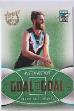 2017 Select Certified Goal to Goal GG64 Justin Westhoff #118 Port Power