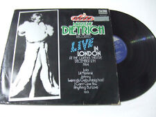 Marlene Dietrich ‎– Attention! Marlene Dietrich! -Disco Vinile 33 Giri LP Album